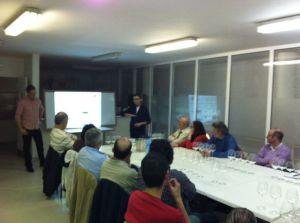 Presentación del acto por Raúl Igual