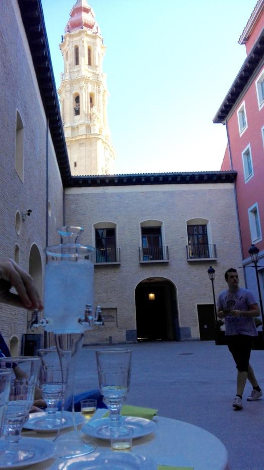 torreon y vaso